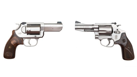 Smith & Wesson and Kimber face off in a .357 Magnum revolver battle.
