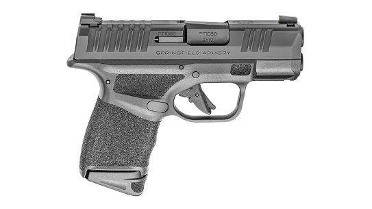 The new 10-round Hellcat from Springfield Armory is for carry in more restrictive locales.