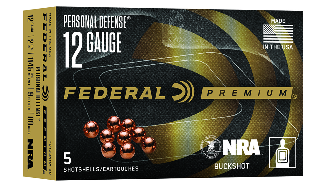The Federal Personal Defense Buckshot sends money to support NRA.