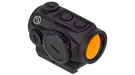 The Primary Arms SLx MD-20 delivers up to 50,000 hours of runtime on a single battery.