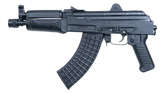 The Arsenal SAM7K-34, made in Bulgaria, brings a 7.62x39mm AK pistol to the U.S.