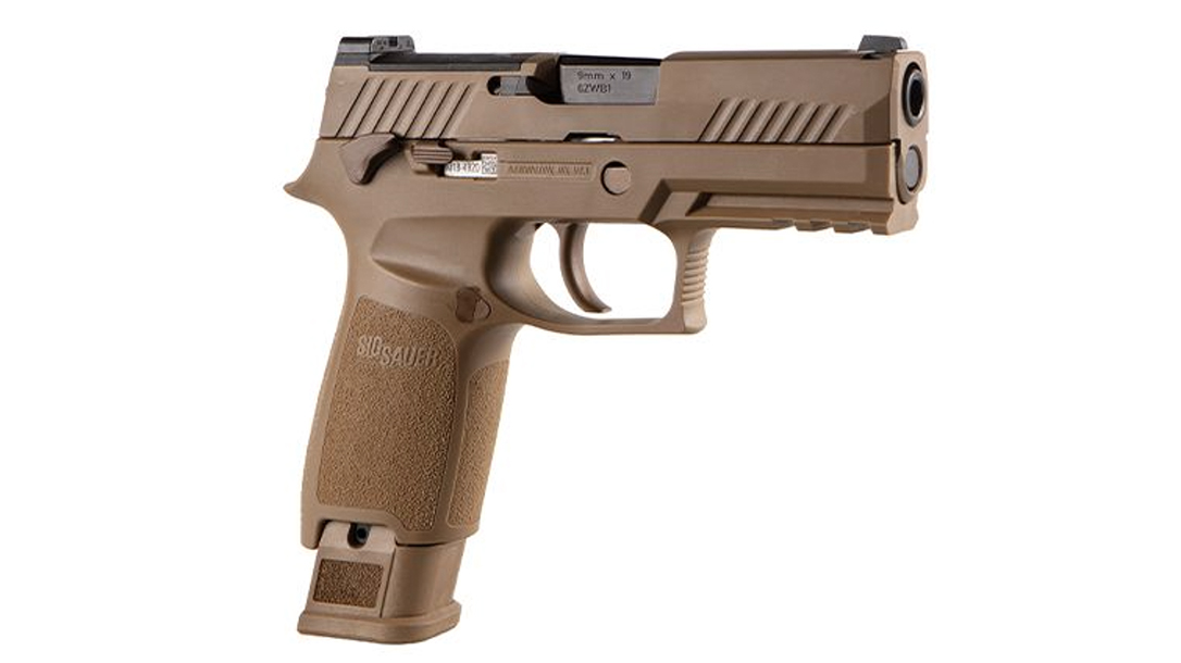 The SIG M18 Commemorative delivers a faithful P320 as the Army and Marine Corps pistols.