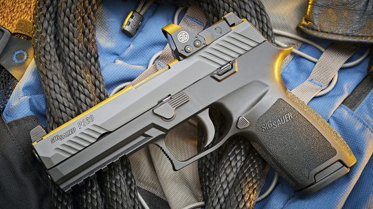 The SIG 320RXP is one of the latest generation of handguns that come standard with red dot reflex sights.
