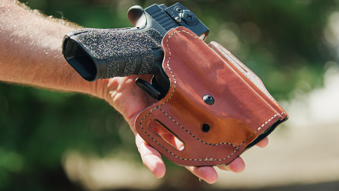 The Safariland Bianchi Assent fits more than 250 pistols via six different sizes.