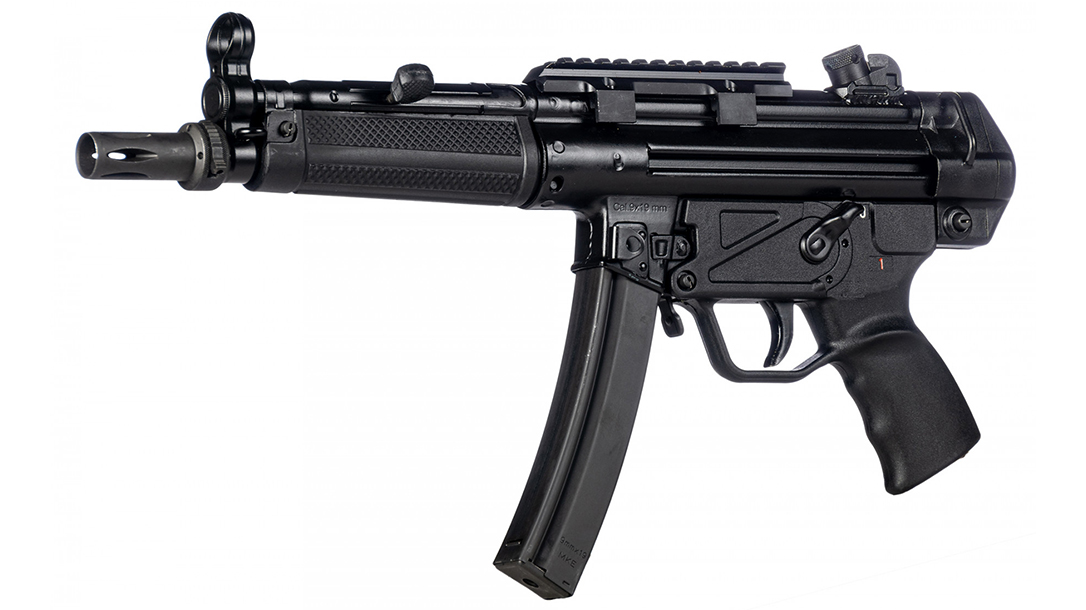 The Century Arms AP5 is a faithful re-creation of the famous MP5.