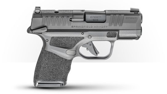 The popular Springfield Hellcat OSP now includes an ambi, manual safety.