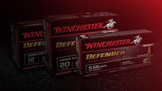 The Winchester Defender ammo line adds 12-gauge, 20-gauge and 5.56mm loads.