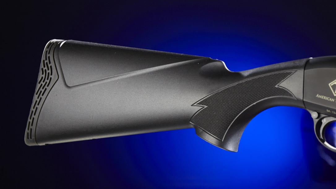 Herbert Parish , Vietnam Vet Kills Intruder, American Tactical TAC SX2 Shotgun stock