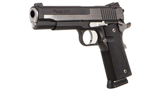 The SIG 1911 Equinox, a Custom Works offering, will only produce 500 pistols.