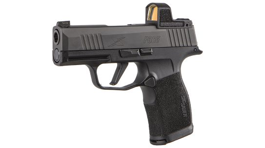 The P365X ROMEOZero combines the 3.1-inch barrel fo the P365 with the P365XL XSERIES grip module.