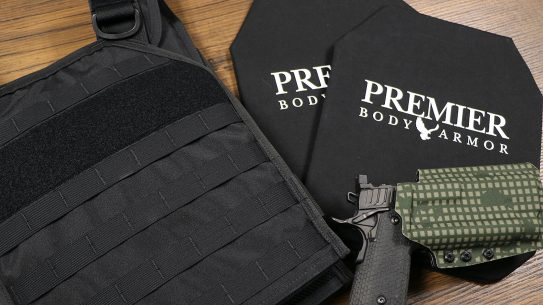 Premier Body Armor AGILE soft plates weigh just 1.2 pounds.