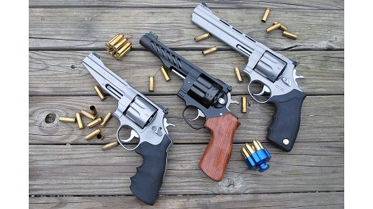 We tested three of the most popular 8-shot revolvers on the market today.