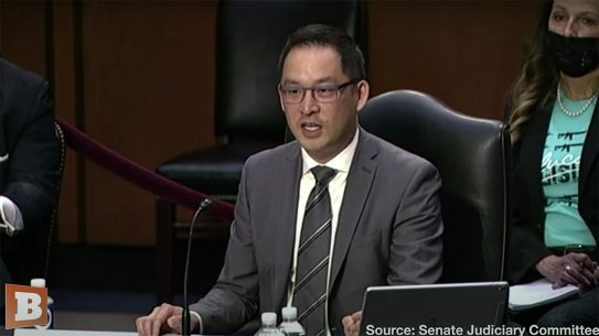 Chris Cheng spoke against gun control before Congress.