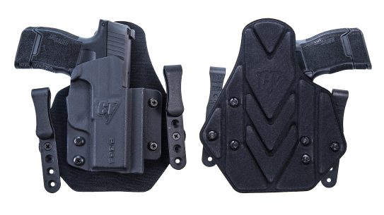 The hybrid IWB Comp-Tac Sport-TAC brings comfort and utility for all-day carry.