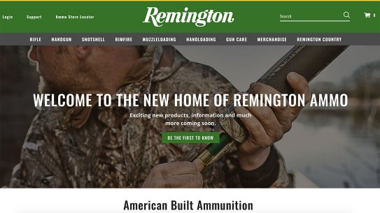 Remington Ammunition launched its new website under Vista Outdoors leadership.