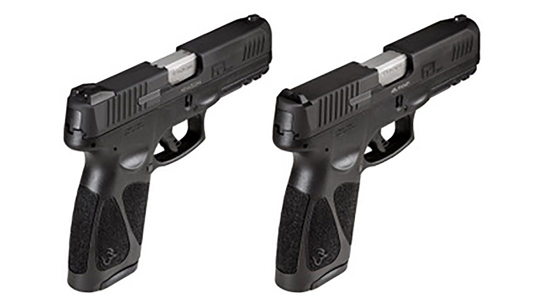 The affordable Taurus G3 pistol line adds modular, fixed steel sights.