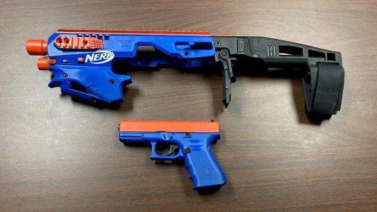 Glock nerf gun, CAA MCK Conversion Kit, Glock 19