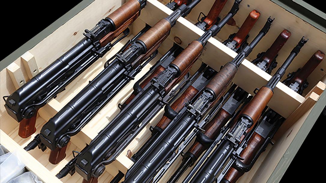 Imported Semi-Auto Rifles, Semi-Auto Rifle import, President Joe Biden, AK