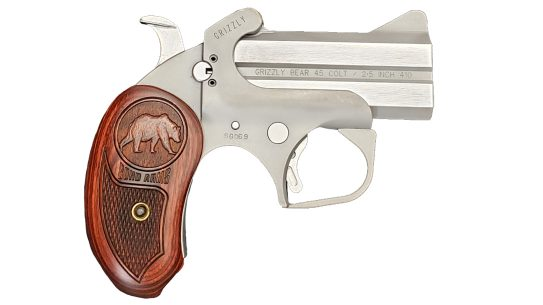 The Bond Arms Grizzly is lightweight, compact and affordable.