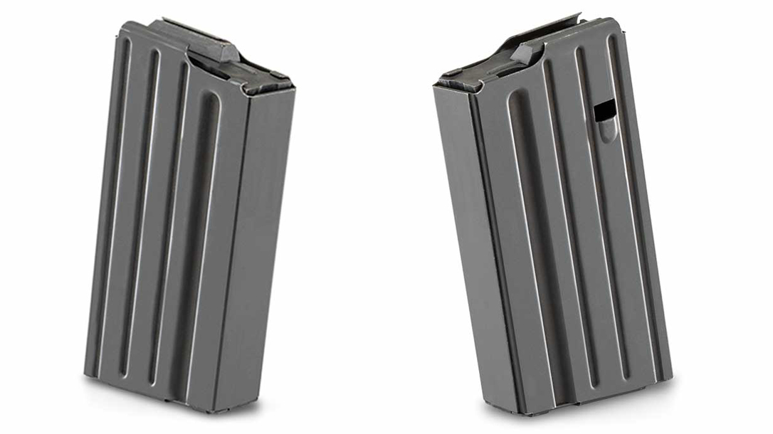 The steel-bodied Luth-AR 20-Round mag offers an upgrade to your AR-10.