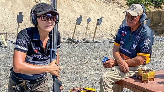 Shotgunning with the Pros, Jerry and Lena Miculek will cover basics and competition in an upcoming shotgun course.