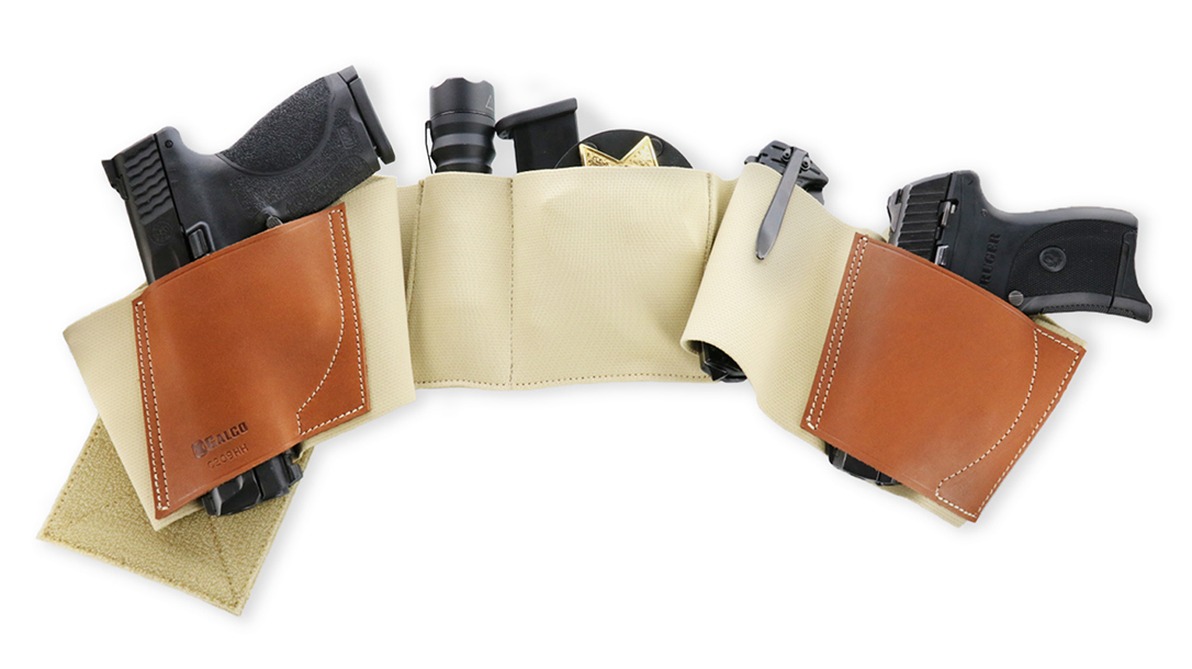 The Galco UnderWraps 2.0 provides a carry alternative.
