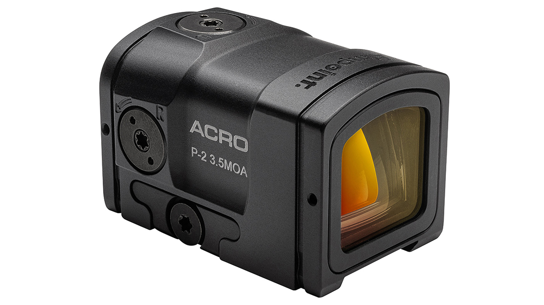 The Aimpoint Acro P-2 delivers up to 50,000 hours of run time.
