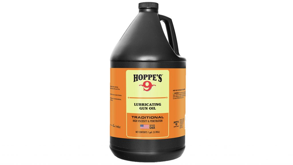 The gallon-size Hoppe's No. 9 works to refill home and field bottles.