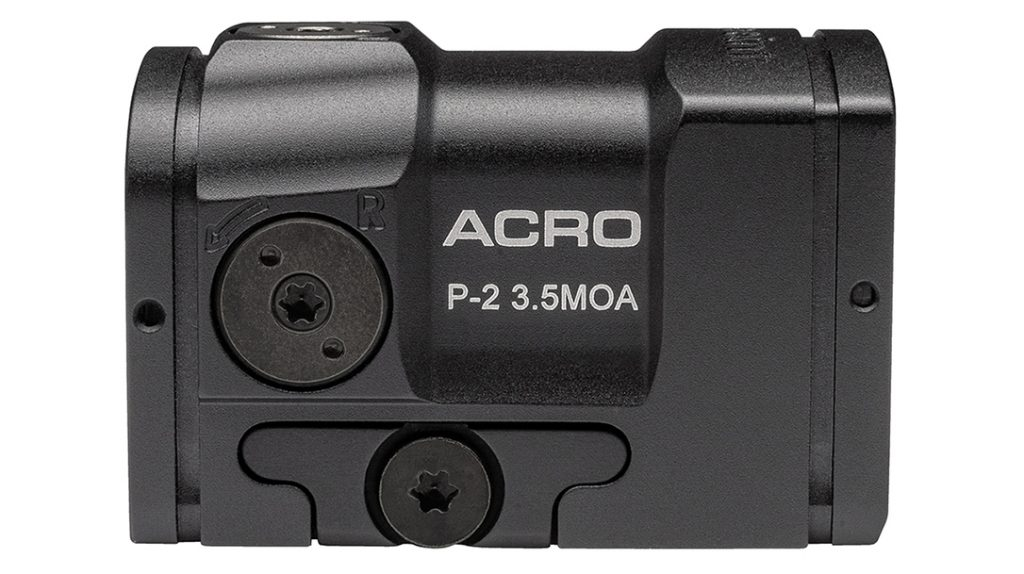 Priced under $600, the Aimpoint Acro P-2 comes military tough.
