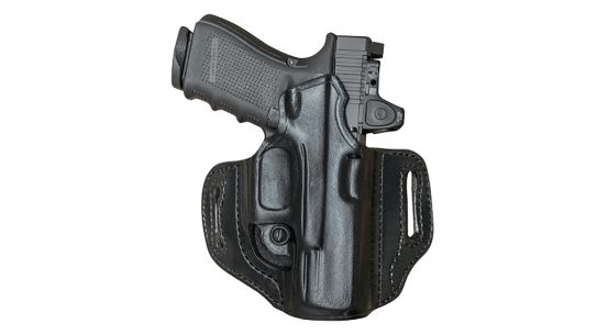 Aker Leather Holsters now feature several optics-ready versions.