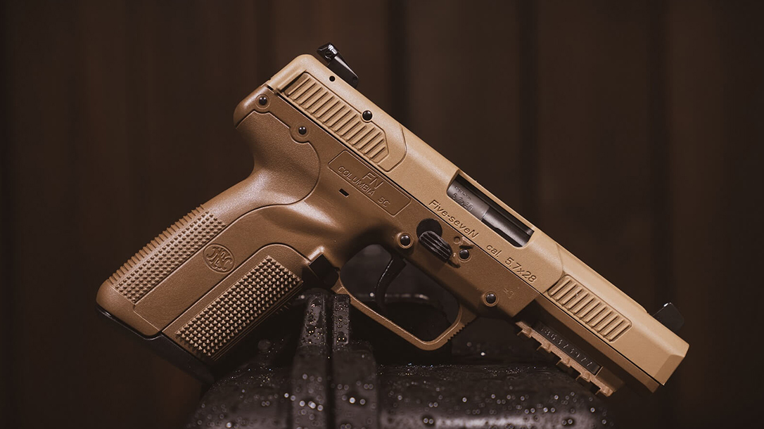 FN Releases Five-SeveN, 503 Micro Compact in Flat Dark Earth