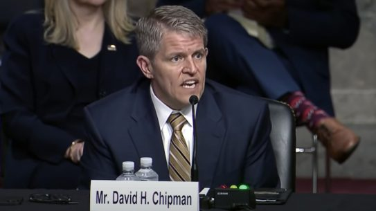 David Chipman admitted he wants to ban the AR-15 before a Senate Judiciary Committee hearing.