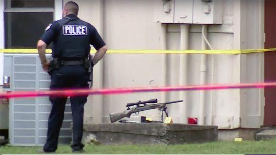 A Fort Smith man put down an Arkansas active shooter using a rifle.