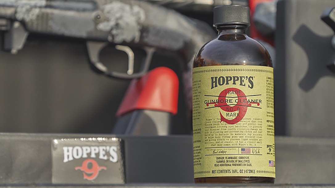Hoppe's No. 9 returns in the old glass bottle.