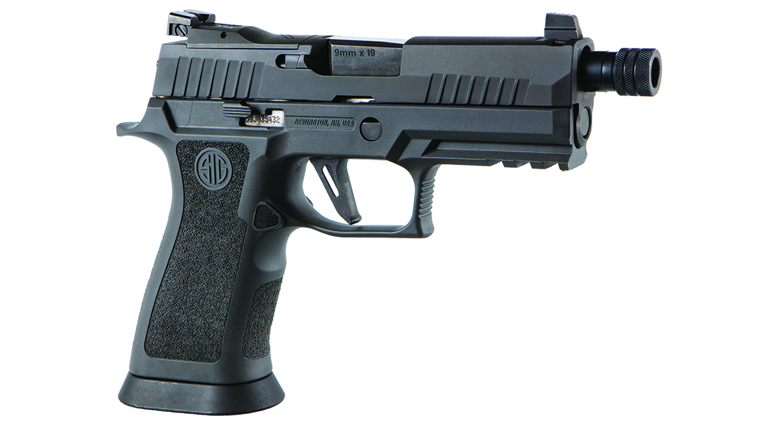 The SIG P320 XCARRY Legion comes fully loaded for EDC.