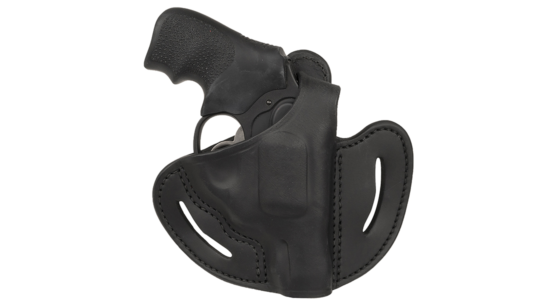 The 1791 Gunleather RVHX brings Level 2 retention in a revolver holster.