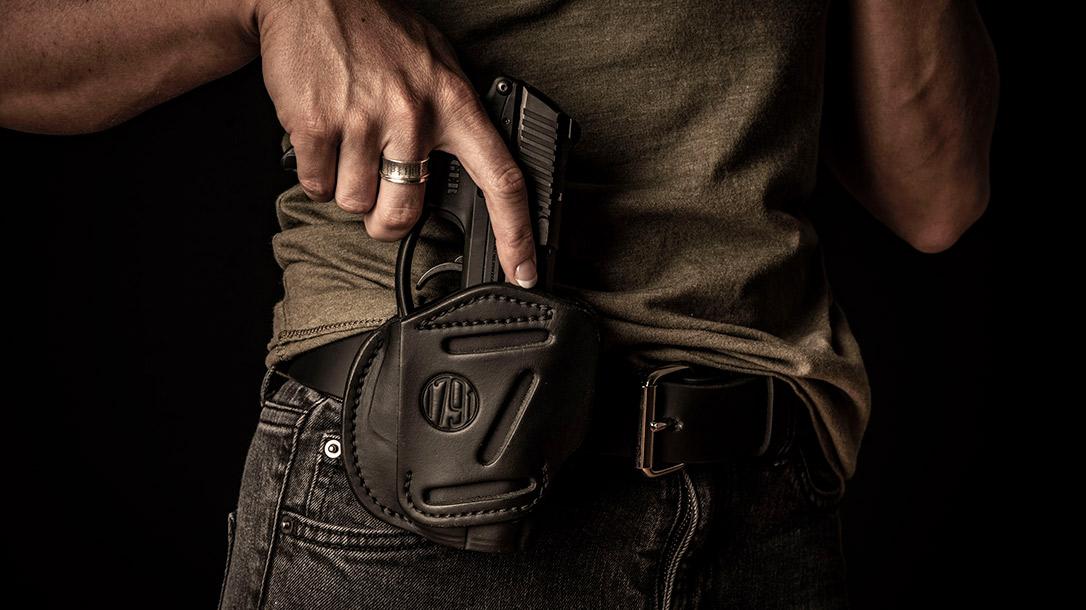 1791 Gunleather pistol holster