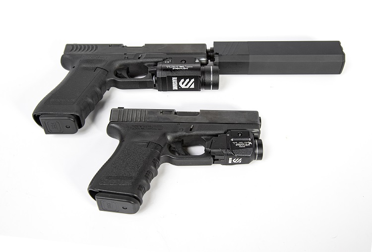 Blackhawk released a pair of Streamlight weapon lights.