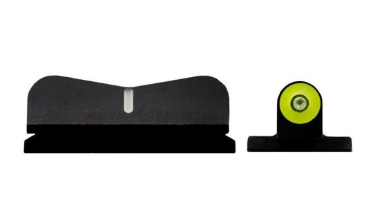 XS tritium pistol night sights for Smith and Wesson M&P Shield