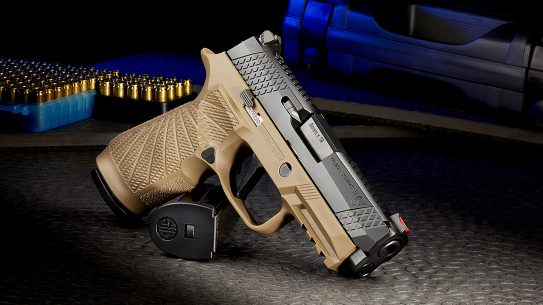 The Wilson Combat tuned Sig P320 EDC pistol is the line where form meets function. Photo: Manufacturer