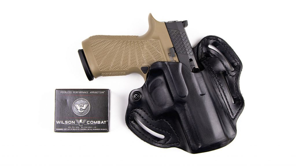 The Desantis Gunhide Speed Scabbard paired perfectly with the WCP320 EDC pistol. The rig rode quite comfortably.