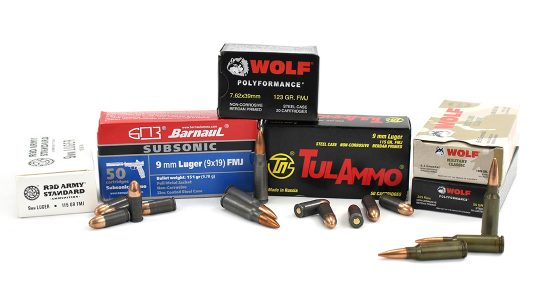 The Russia import ban will remove a large source of affordable ammo from U.S. market.