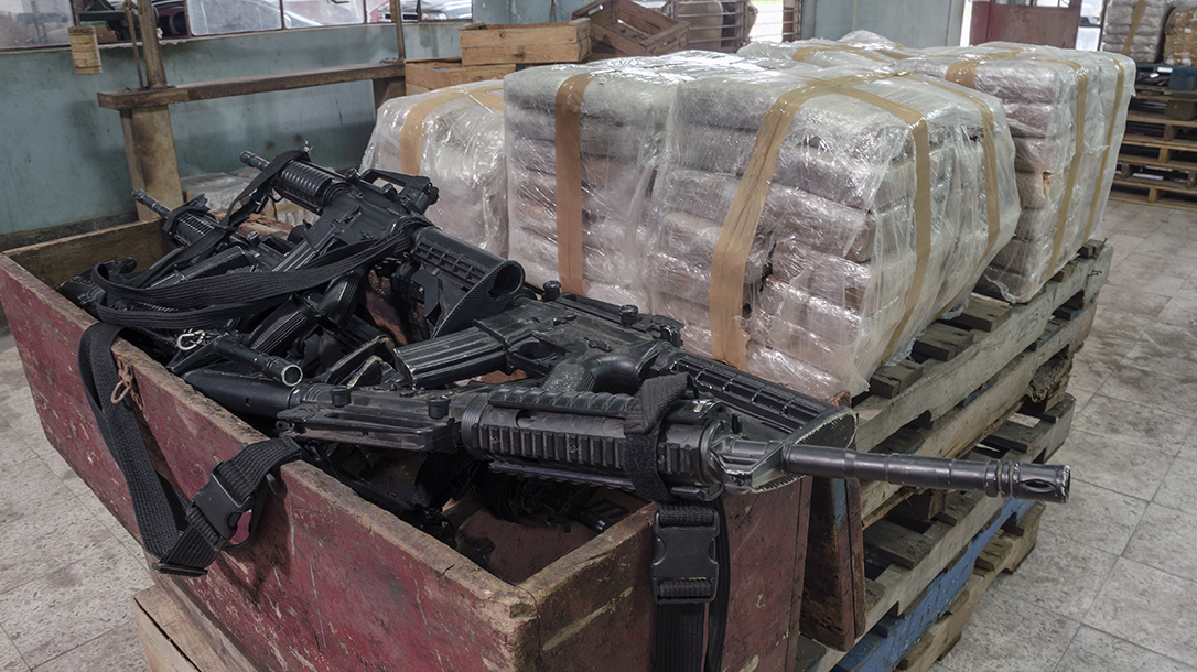 Mexican drug cartels use illegal weapons often gotten from governments.