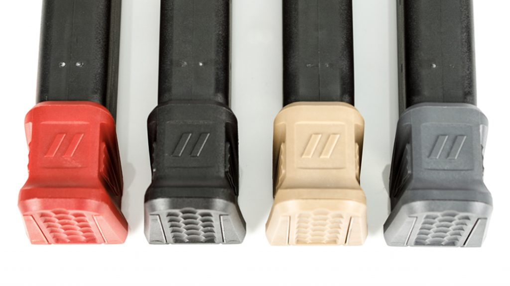 The new Zev Technologies polymer basepads add a low-cost mag increase.