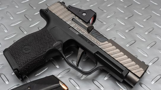 The Z365XL, custom Sig P365XL, from Zev Technologies.