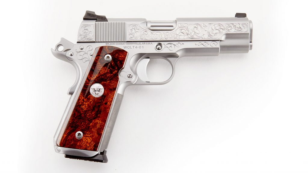 Wilson Combat Limited 10 number four high end 1911.