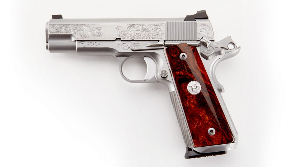 Wilson Combat Limited 10 number four obverse side.