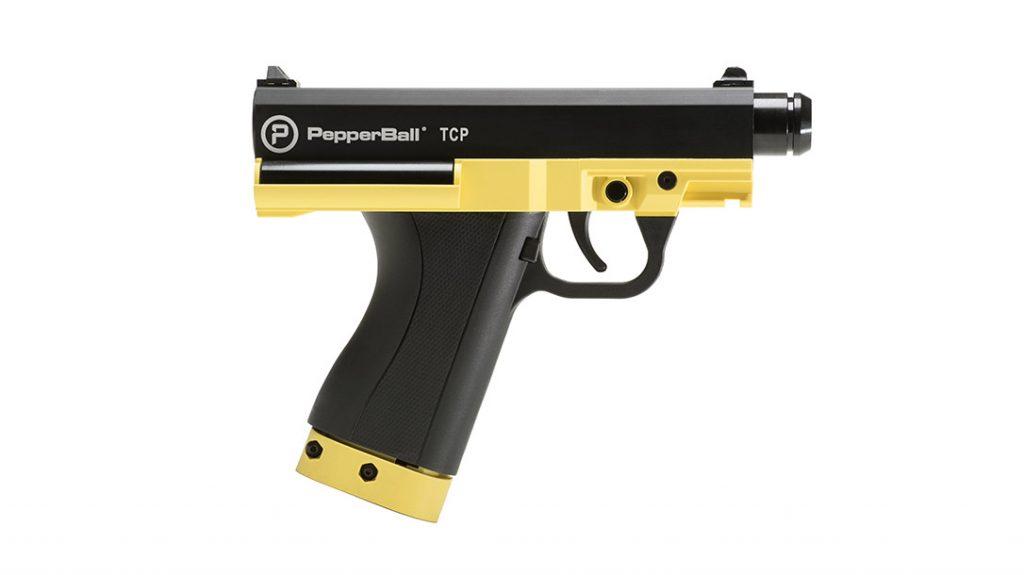 The Pepperball TCP pistol Launcher