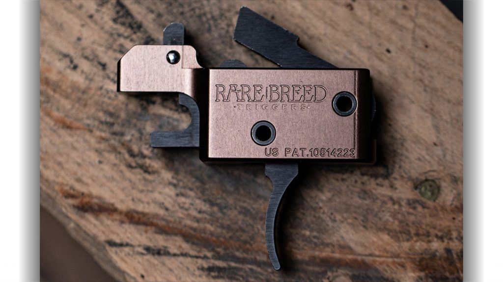 Rare Breed Triggers FRT-15 trigger (Forced Reset Trigger) at the center of an ATF cease-and-desist order.
