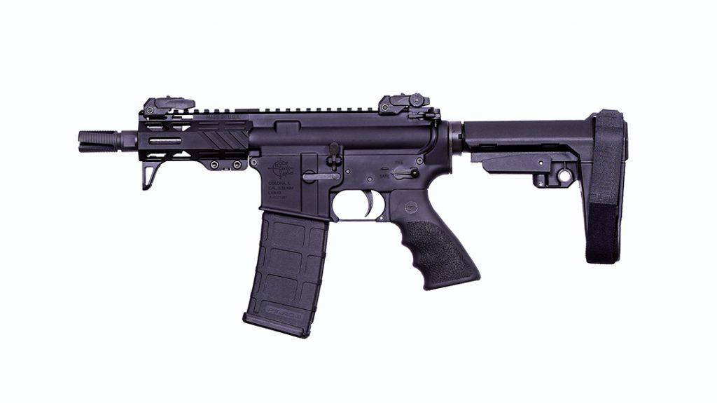 The Rock River Arms RUK-15 AR pistol.